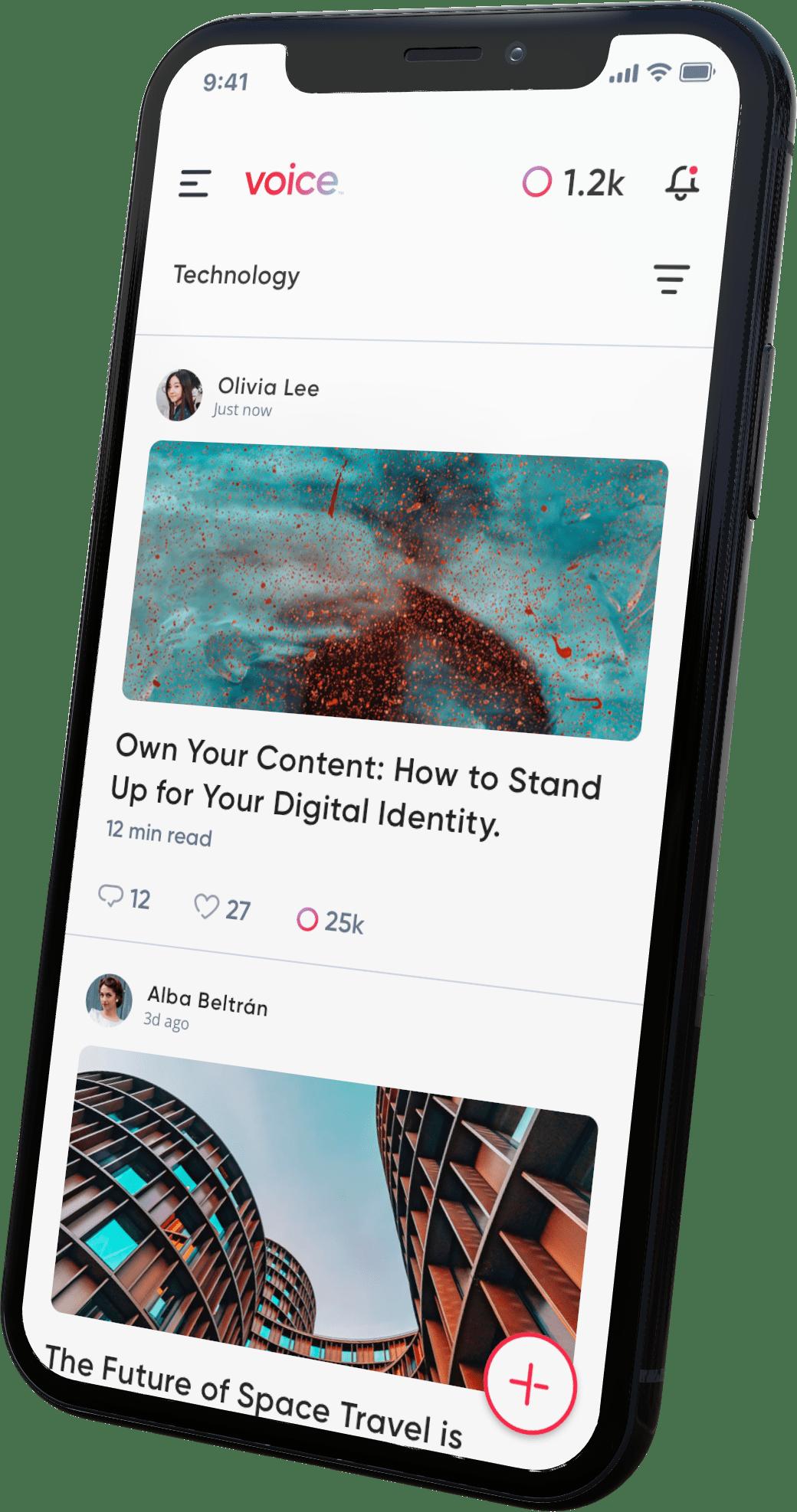 Voice App on Phone